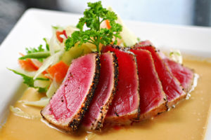 How to Cook Tuna Saku